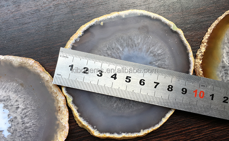 Mineral Specimen agate geode slice wholesale agate rocks from india