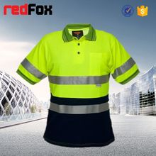 reflective safety bulk wholesale white t-shirt