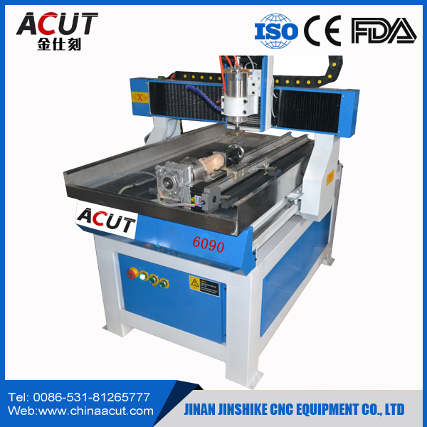3d Cnc Engraving Machine High Quality Router 4 Ax ACUT-6090