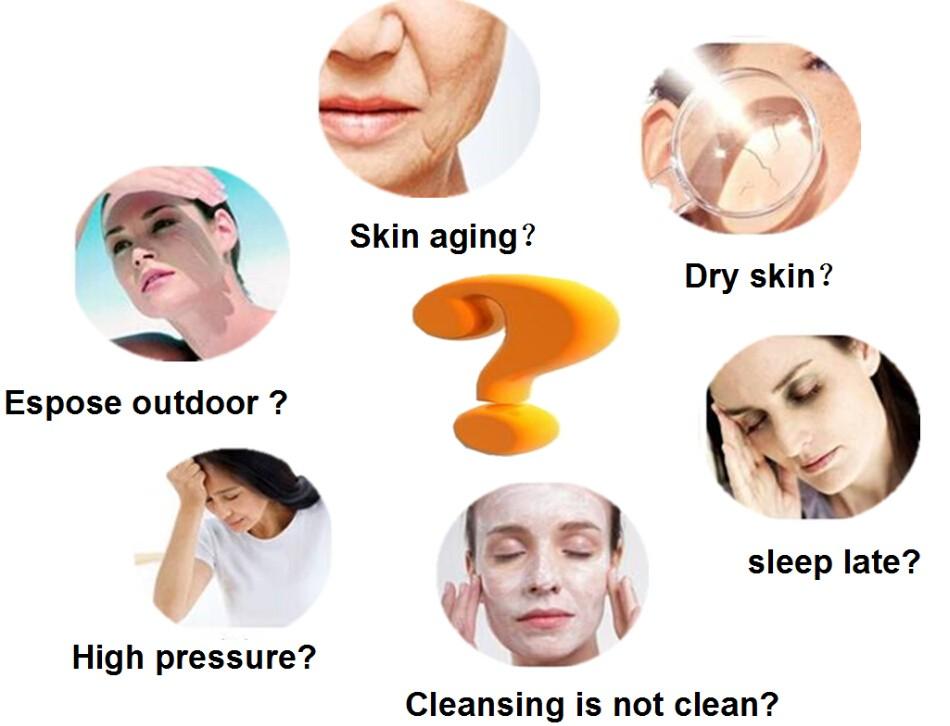 24 k Or Collagène Cristal Anitiaging Masque Facial Raffermissant