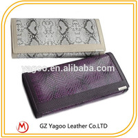 2015 Fashion Leather envelope woman clutch bag / cross body bag at low price