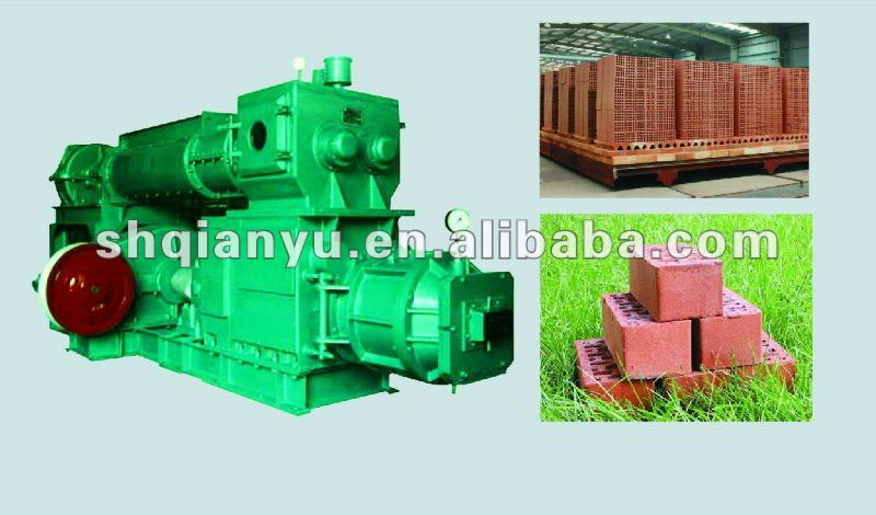 Qianyu Compressed Automatic Earth Red/Clay/Fire Brick Block Making Machine for Bangladesh Market