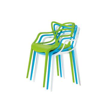 Factory direct selling plastic chair in malaysia