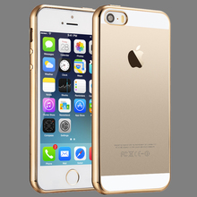Free samples clear phone cover for iphone 5s transparent tpu case