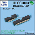 2.0mm box header 6 8 10 12 14 16 18 20 22 24 26 30 34 40 44 50 68 pin CE ROHS LL1008-1A