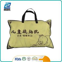 China manufacturer plastic vacuum bags for pillow packing pvc bag