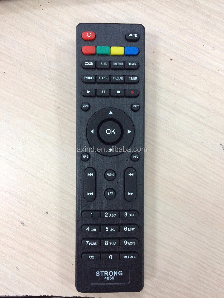 Universal TV wireless remote control for European market LCD,LED,DVB ,DVB-T2+2 DVB-T2+3 huayu RUSSIA SATELLITE
