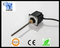 High quality nema 23 step motor captive and non captive step motor