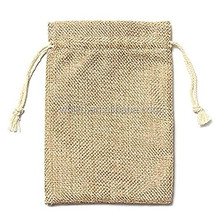 Vintage Burlap Jute Sacks Weddings Party Favor Drawstrings Gift Bags