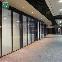 Used sliding glass doors sale movable panel system wall decor acoustic panel soundproof door