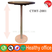 Alibaba automatic adjustable desk single foot officeb table modern design stand up desk