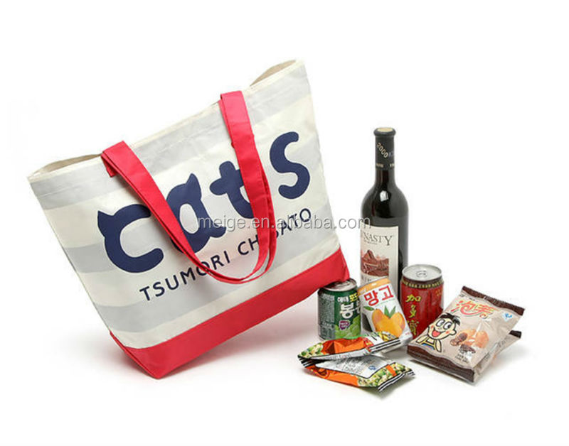 polyester shopping bag foldable/polyester tote shopping bags/600d polyester shopping bags