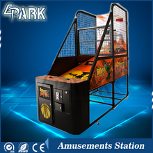 Low price india coin operated street basketball game machine