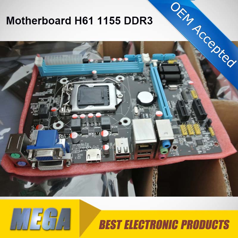 computer parts H61 motherboard socket 1155 ddr3
