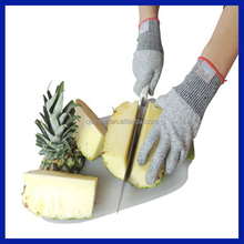 Amazon supplier Best Food Grade Kitchen Level 5 Cut Protection Cut Resistant Gloves