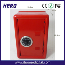 2017 Hot sale tin money box top quality metal steel soy sauce with high quality