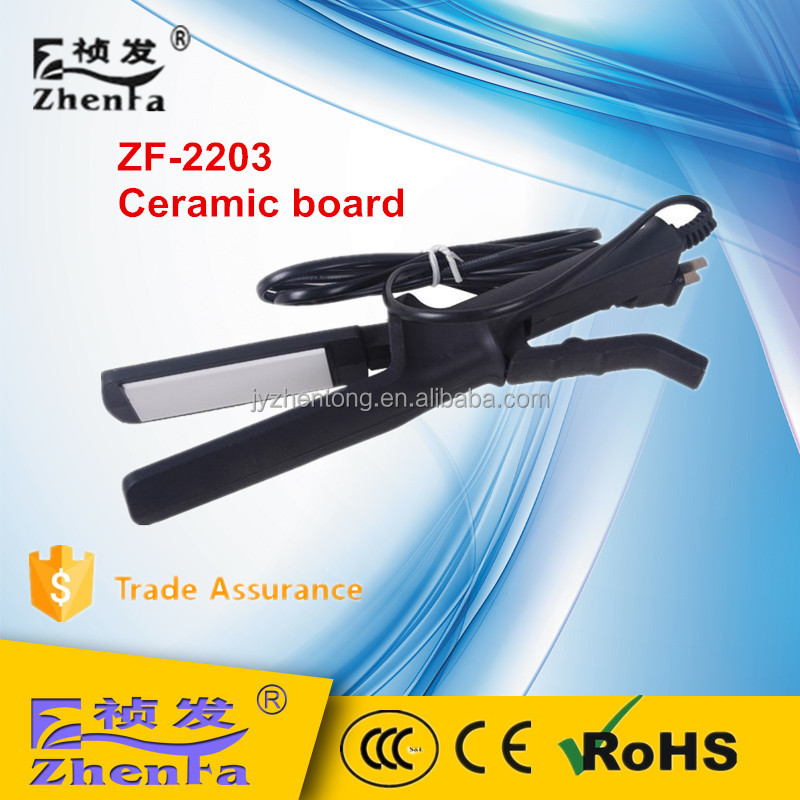 High quality barber shop hair straightener ZF-2203