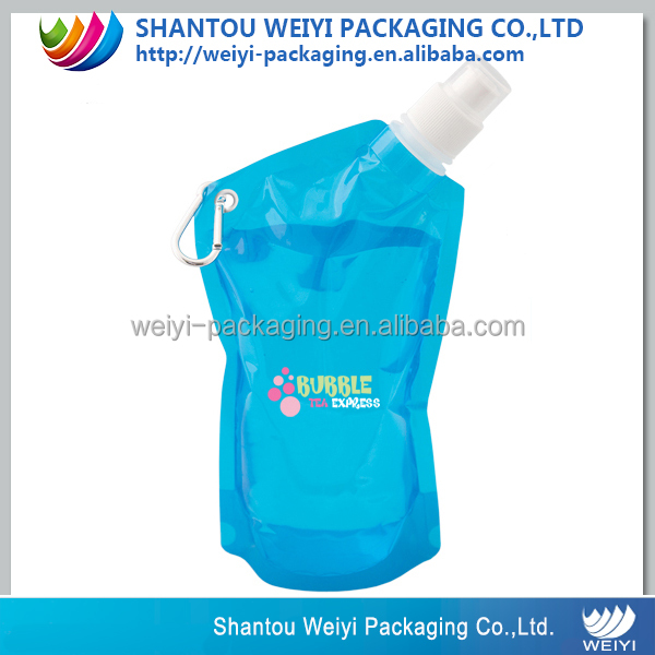 New Free Portable Foldable Drinking Water Spout Pouch