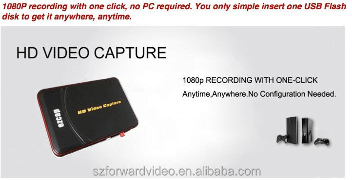 REAL 1080P HD GAME CAPTURE EZCAP280