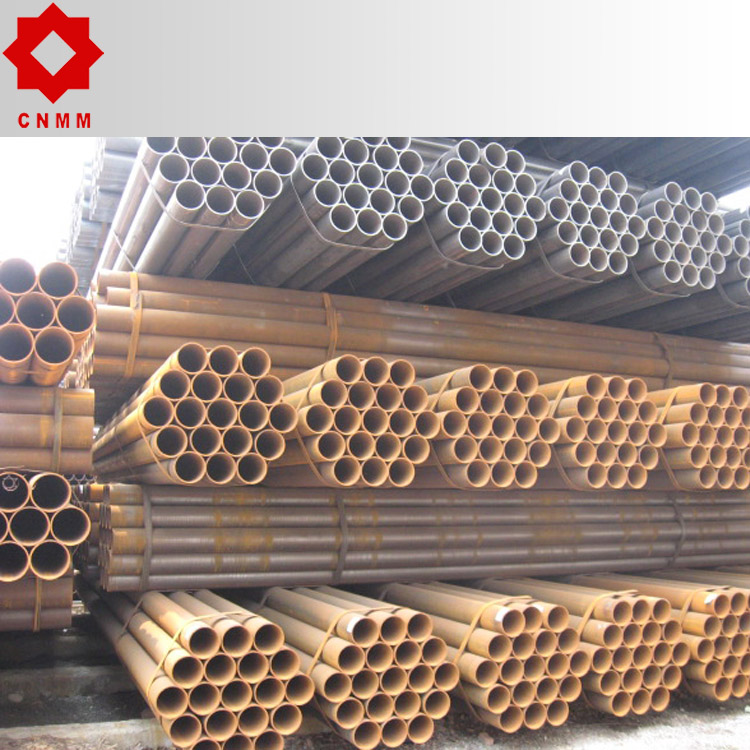 Trade Assurance ISO9001 Q235 ASTM A513 Erw Steel Black Round Pipe for Structure Pipe Alibaba