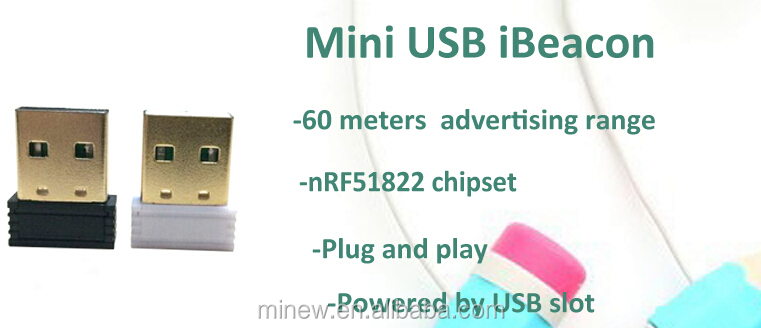 Mini USB Bluetooth beacon