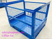 Wholesale Steel Wire Mesh Stackable Storage Bin