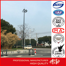 28M Customized Driveway High Mast Light Pole with Hot Dip Galvanized