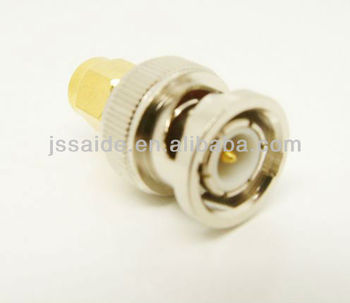 SMA plug/male to BNC plug/male coaxial adapter RF connector