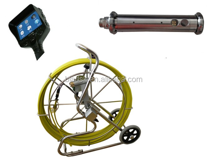 Rotated HD pipe inspection Camera