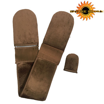 Microfiber Applicator Self Tanning Mitts And Facial  Face Mitt For Use With Californium Sunless Tanner