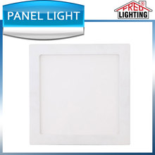 Dimmable led panel light 200x200mm 8W 24V led panel light with white frame