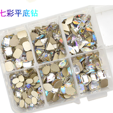 Latest Arrival Nail Art Fancy Flat Back Rhinestone For DIY NJ017