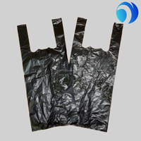 t-shirt bag vest bag small black trash bag on roll