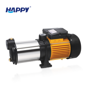 Happy water pumps food grade self priming centrifugal horizontal multi stage pump