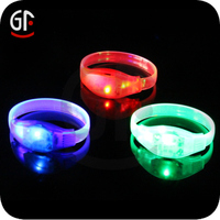 Economic Return Gifts For Birthday Promotion Items Motion Activated Led Bracelet