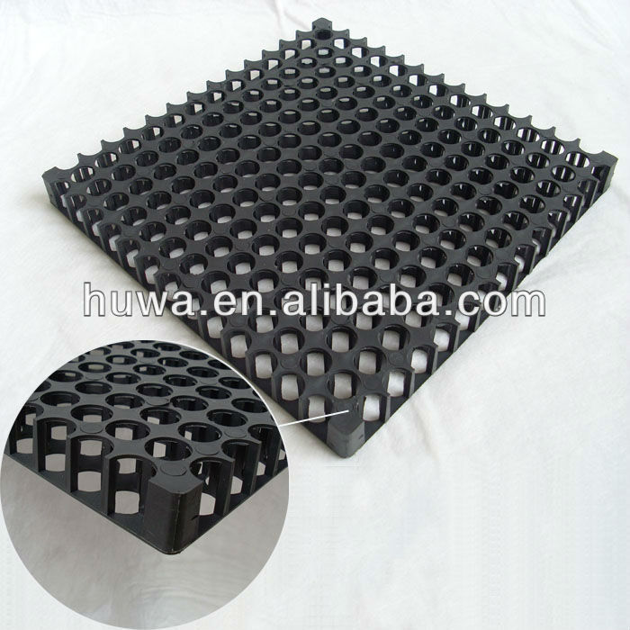 HDPE plastic material supplier versicell roof garden interlock drainage modular cells