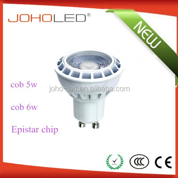 sales increase ce rohs gu10n 5w led ceiling dimmable gu10 mini led spotlight accu led
