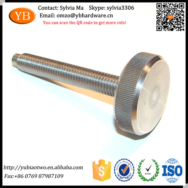 Stainless Steel Knurled Head Adjusting <strong>Screw</strong>