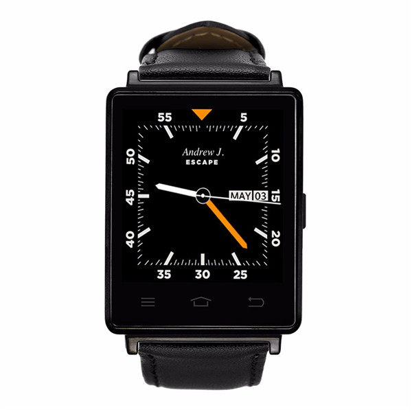 D6 3G Smart Watch Phone Android 5.1 MTK6580 Quad Core 1.3GHz 1GB RAM 8GB ROM 1.63 inch WiFi Bluetooth 4.0 GPS smartwatch