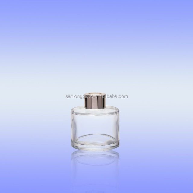 scented reed diffuser cosmetic glass bottle