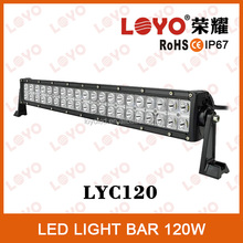 30000 hours life use led light bar 10-30V DC 120W Black white light bars