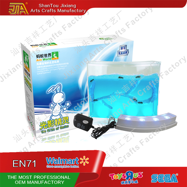 Have light antworks -one set of Antworld(ant farm)