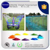 trade assurance electrostatic spray coating powder/Ral color powder paint for exterior application
