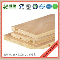 18MM Poplar Veneered E1 Formaldehyde Emission Standards Blockboard