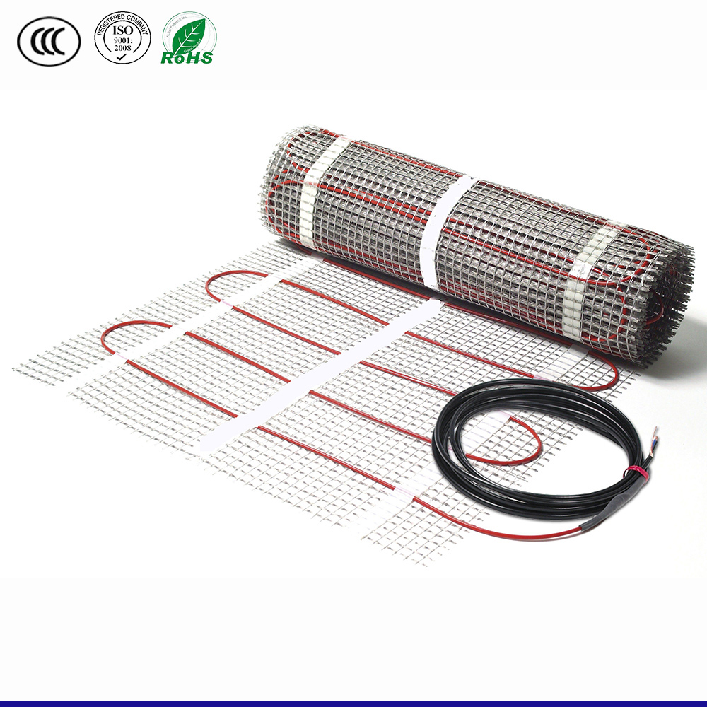 Modern carpet heating mat under heating floor heating system