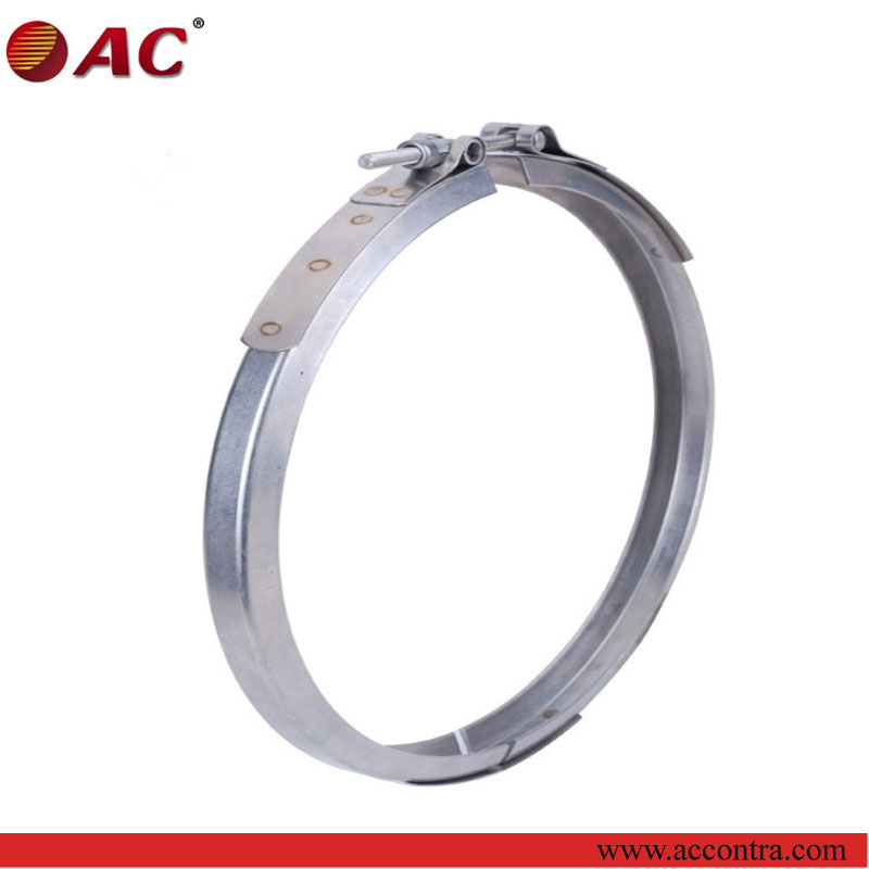 high quality and quick lock stainless steel drum use clamping rings
