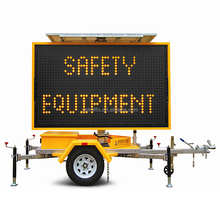 18101B Optraffic AS 4852 Portable Solar Battery Power Traffic Message 5 Colour LED VMS Sign Boards,VMS Trailer Signs