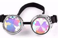 Funky party glasses Kaleidoscope style, customized novelty glasses
