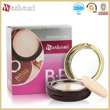 Washami 2017 Hot selling waterproof dual compact powder best face powder for dry skin