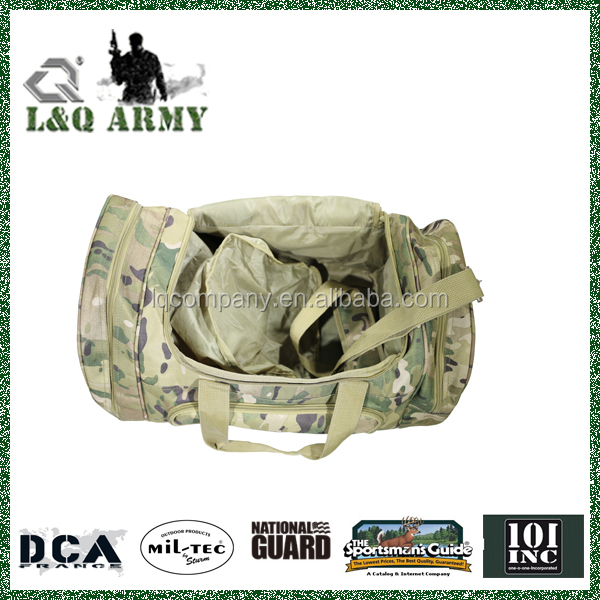 Camo Travel bag With addition shoes Compartment